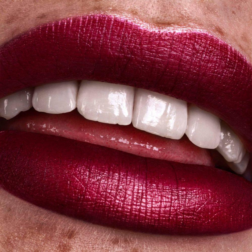 make up rode lippenstift